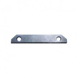 Комплект прямых соединителей для закладного профиля TR3040-AL Denkirs 4 шт. TR3043-AL