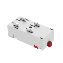 Прямой соединитель для шинопровода Denkirs TR2101-WH