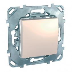 Выключатель одноклавишный Schneider Electric Unica 10AX 250V MGU5.201.25ZD