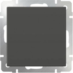 Выключатель одноклавишный серо-коричневый WL07-SW-1G 4690389053979