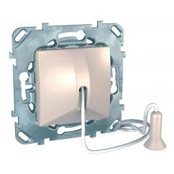 Выключатель со шнуром без фиксации Schneider Electric Unica MGU5.226.25ZD
