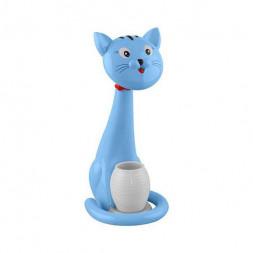 Настольная лампа Horoz Felix синяя 049-028-0006