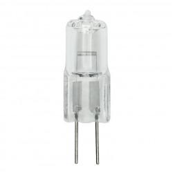 Лампа галогенная (00825) G4 35W прозрачная JC-12/35/G4 CL