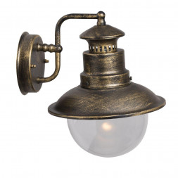 Уличный настенный светильник Arte Lamp Amsterdam A1523AL-1BN