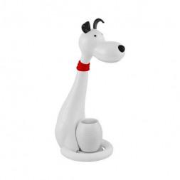 Настольная лампа Horoz Snoopy белая 049-029-0006
