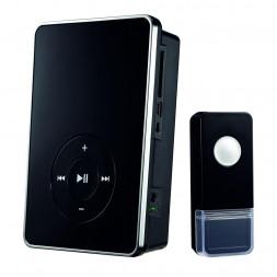 Звонок беспроводной Elektrostandard DBQ09M WL MP3 16M IP44 черный 4690389037368