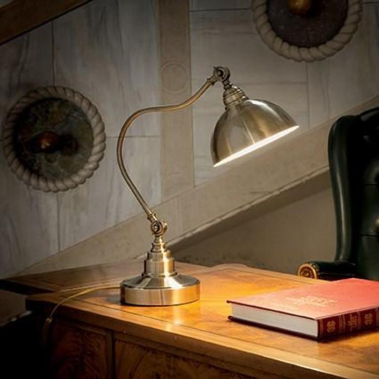 Настольная лампа Ideal Lux Amsterdam TL1 Brunito