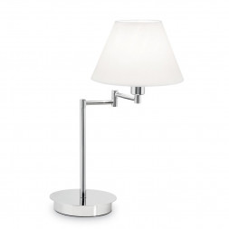 Настольная лампа Ideal Lux Beverly TL1 Cromo