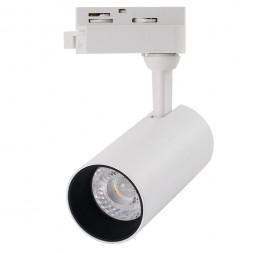Трековый светодиодный светильник Arte Lamp A4568PL-1WH