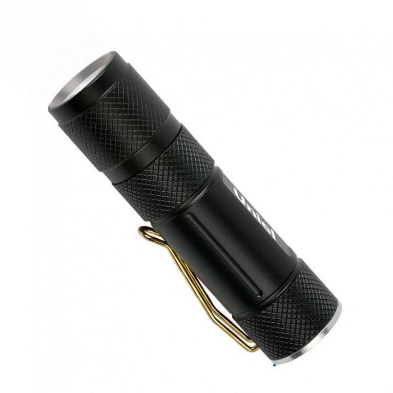 Карманный светодиодный фонарь Uniel (04782) от батареек 120 лм S-LD020-C Black