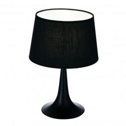 Настольная лампа Ideal Lux London TL1 Small Nero