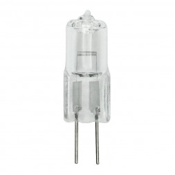 Лампа галогенная (02585) G4 35W прозрачная JC-220/35/G4 CL