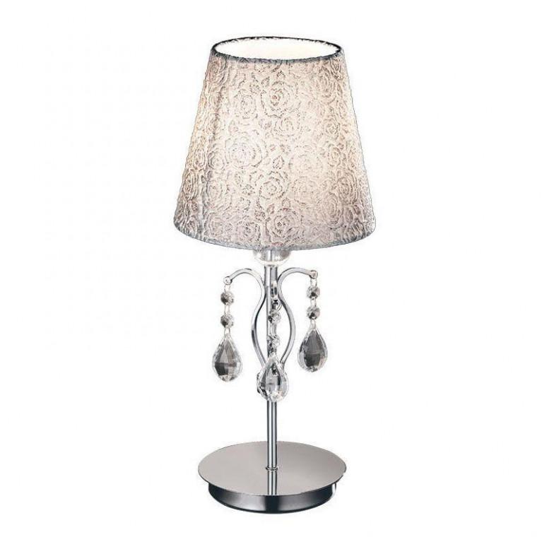 Настольная лампа Ideal Lux Pantheon TL1 Small Cromo