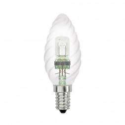 Лампа галогенная (04112) Е14 28W прозрачная HCL-28/CL/E14 Candle Twisted