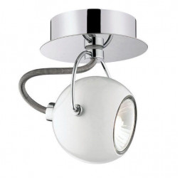 Спот Ideal Lux Lunare AP1 Bianco