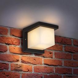 Уличный настенный светильник Elektrostandard 1540 Techno Shelter Grit 4690389106255