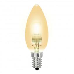 Лампа галогенная (04119) E14 42W золотая HCL-42/CL/E14 candle gold