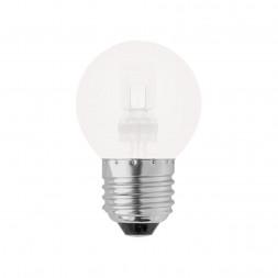 Лампа галогенная (05220) E27 42W матовая HCL-42/FR/E27 globe