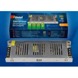 Блок питания (UL-00002432) Uniel UET-VAS-200A20 12V IP20