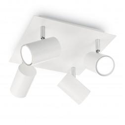 Спот Ideal Lux Spot PL4 Bianco