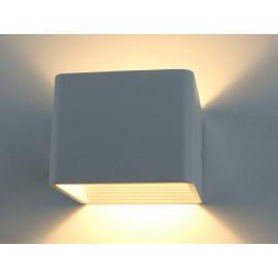 Настенный светодиодный светильник Arte Lamp Scatola A1423AP-1WH