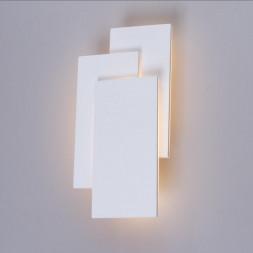 Настенный светодиодный светильник Arte Lamp Trio A1718AP-1WH