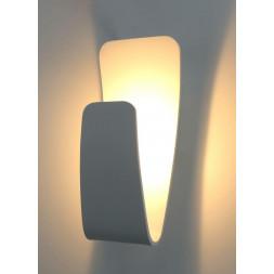 Настенный светодиодный светильник Arte Lamp Virgola A1418AP-1WH