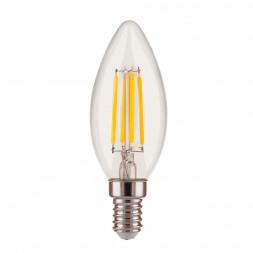 Лампа светодиодная филаментная диммируемая Elektrostandard E14 5W 4200K прозрачная 4690389140990