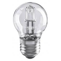 Лампа галогенная E27 28W прозрачная 4690389020919