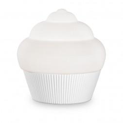 Настольная лампа Ideal Lux Cupcake TL1 Small Bianco