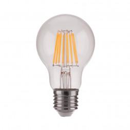 Лампа светодиодная филаментная диммируемая Elektrostandard E27 9W 4200K прозрачная 4690389141157