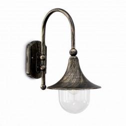 Уличный настенный светильник Ideal Lux Cima AP1