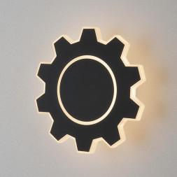 Настенный светодиодный светильник Elektrostandard Gear M LED черный MRL LED 1095 4690389125362