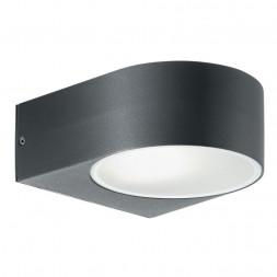 Уличный настенный светильник Ideal Lux Iko AP1 Antracite
