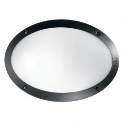 Уличный настенный светильник Ideal Lux Maddi-1 AP1 Nero