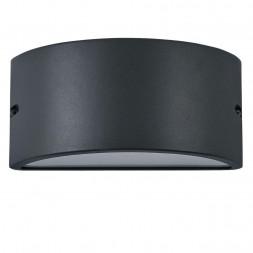 Уличный настенный светильник Ideal Lux Rex-2 AP1 Antracite