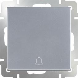Кнопка звонка WL06-04-01 серебристая 4690389099823